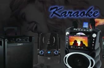 Top 10 Best Karaoke Machines Reviewed
