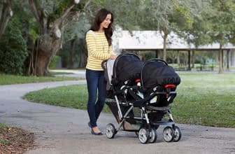 5 Best Double Strollers For Infant And Toddler Reviewed