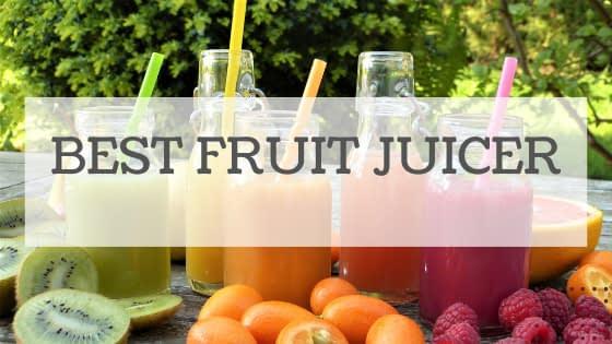 Best Fruit Juicer